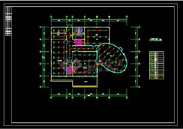 比较齐全的会所电气图纸(共8张)-图2