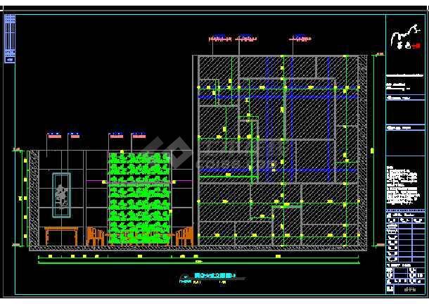 精品酒店商务旅游建筑装修设计图-图2