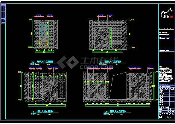 精品酒店商务旅游建筑装修设计图-图3