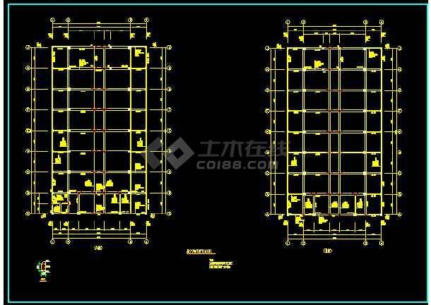 某政府办公楼施工详图(含设计说明)-图1