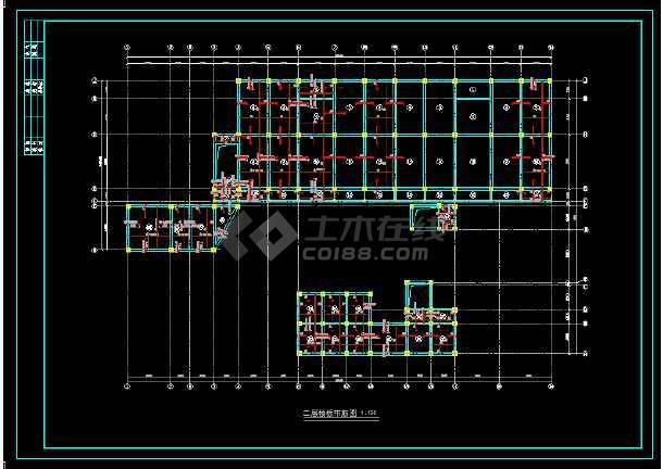 幼儿园结构设计图纸(含设计说明)-图1