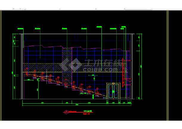 保利国际电影院全套建筑施工CAD设计图纸-图1