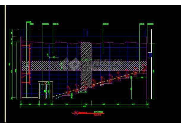 大型电影院全套建筑施工CAD设计图纸-图2