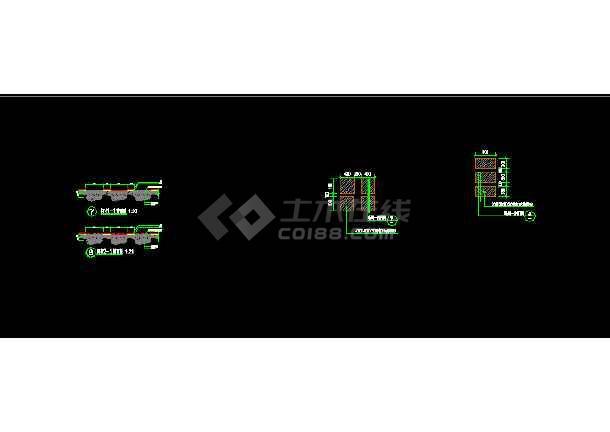 濮邮社区景观美化设计图(二期)-图1