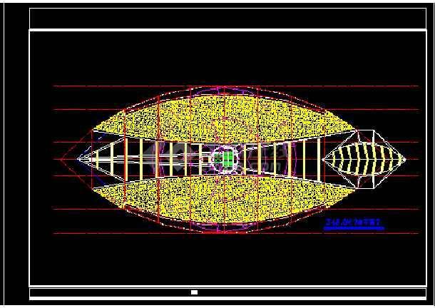 观光塔建筑施工CAD设计方案全套图-图3