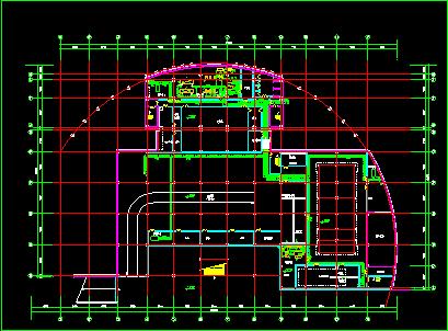 某市住宅地下室中央空调全套CAD平面设计施工图纸图片2