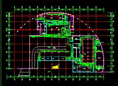 某市住宅地下室中央空调全套CAD平面设计施工图纸图片3