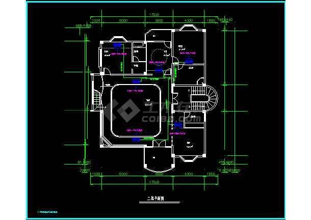 某高级别墅MRV空调cad施工设计方案图纸-图1