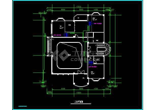 某高级别墅MRV空调cad施工设计方案图纸-图2
