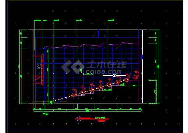 国际电影院全套建筑施工cad设计方案图纸-图1