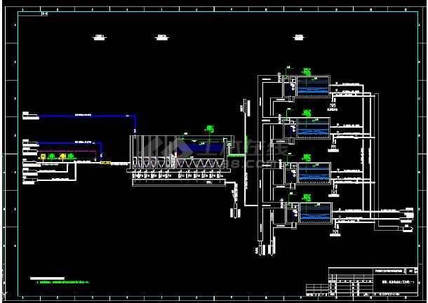 化工企业净水厂工程(混凝沉淀过滤工艺)-图3