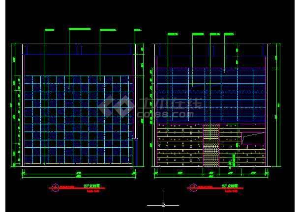 国际电影院建筑施工cad设计方案详图-图3