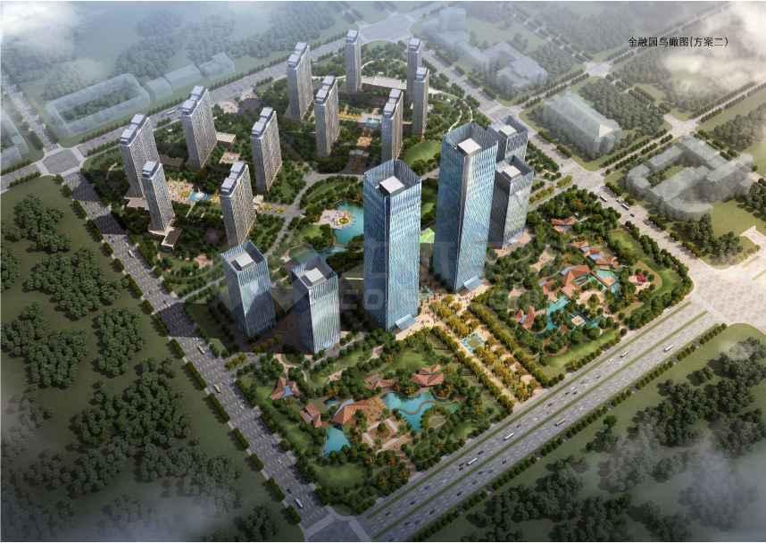 商务区规划及单体建筑设计方案文本-图1