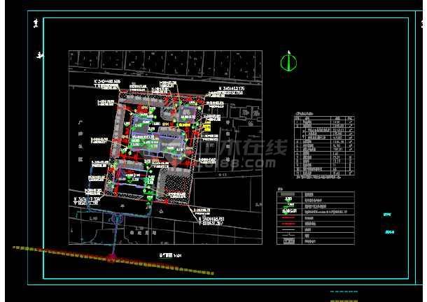 广社乡公安派出所室外工程设计植物设计图-图1