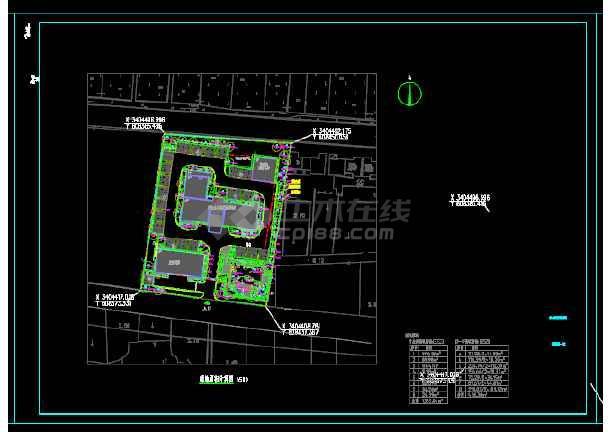 广社乡公安派出所室外工程设计植物设计图-图2