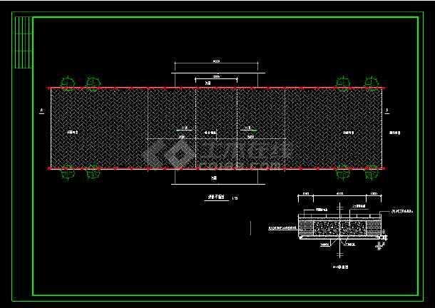 仿古典石桥整套详细cad建筑设计施工图-图1