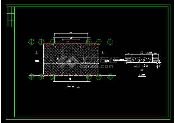 仿古典石桥整套详细cad建筑设计施工图-图2