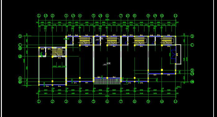 仿古建筑方案设计及施工全套CAD图纸图片2