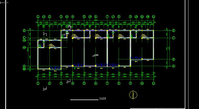 仿古建筑方案设计及施工全套CAD图纸图片3