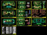 某多层办公楼空调系统设计cad施工方案图纸图片1