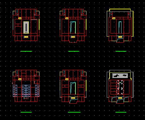安乐堂古建筑方案设计施工全套CAD图纸图片1
