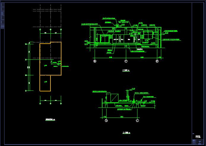 某地区现代洁净厂房空调系统cad平面布置施工图图片2