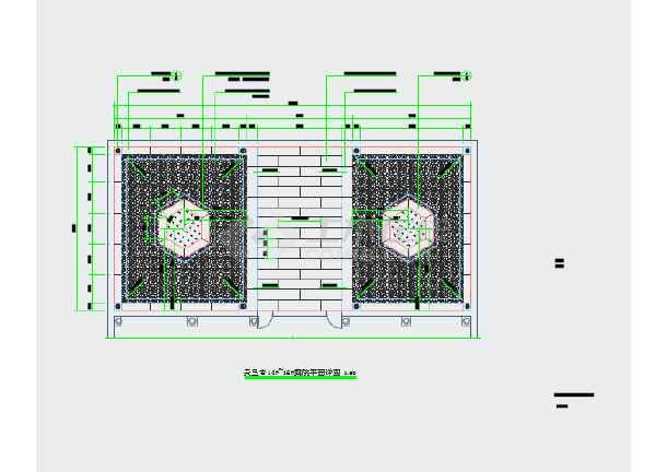 鹤城防城古街复原景观工程设计图纸-图3