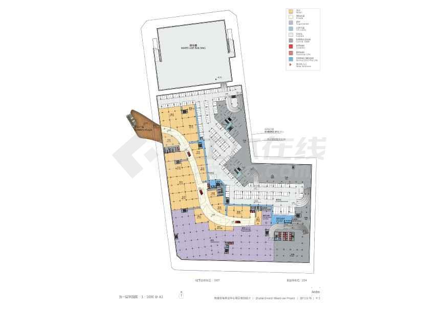154米超高层商业单体建筑设计方案文本(效果图)-图3