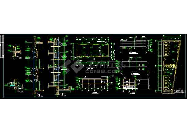 某大型生产车间全套建筑设计施工图-图2