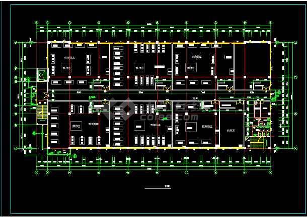 某四层生产稀有金属的厂房建筑设计方案图-图2