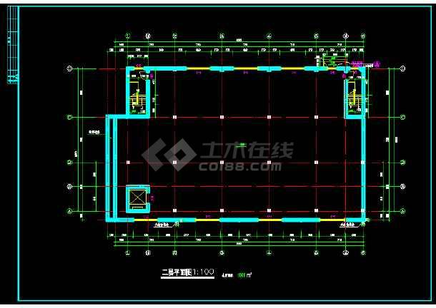 某书刊社厂房全套建筑设计方案图纸-图2