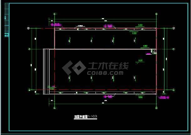 某书刊社厂房全套建筑设计方案图纸-图3