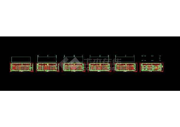 某五层厂房仓库全套建筑设计施工图-图1