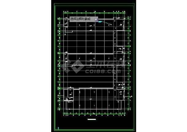 开发区小学暖通工程施工CAD图-图2