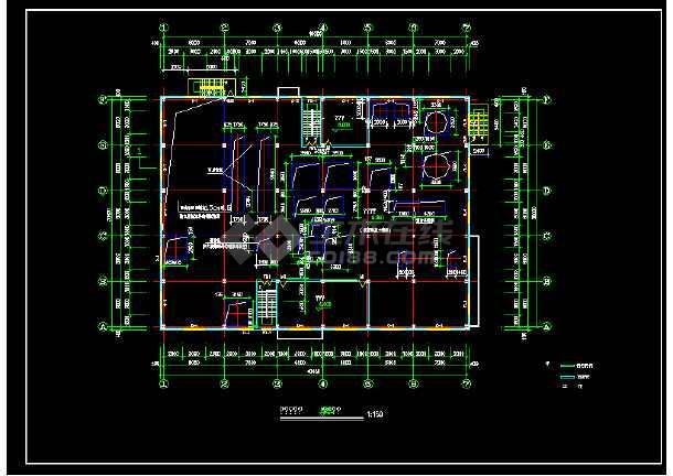 某十层厂车间楼全套建筑设计施工图-图2