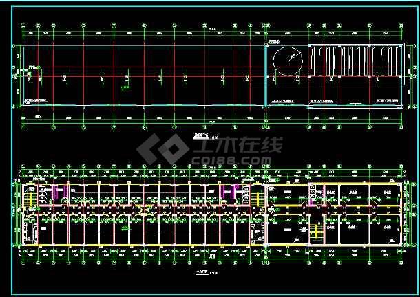 某三层厂房全套建筑设计施工方案图-图1