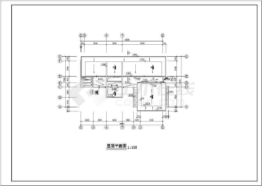 某地一套豪华现代别墅施工图(含设计说明)-图3