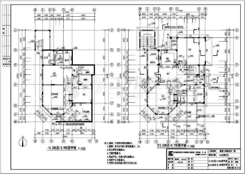 点击查看香格里拉千万级别墅建筑全套图(共4张)第1张大图