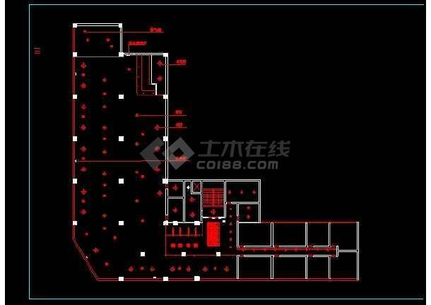 某KTV包箱装修施工设计CAD详情图-图2