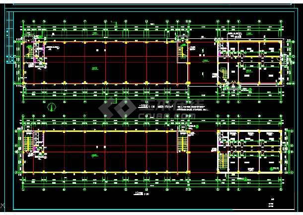 某大型商业综合楼建筑设计方案全套CAD图纸-图2