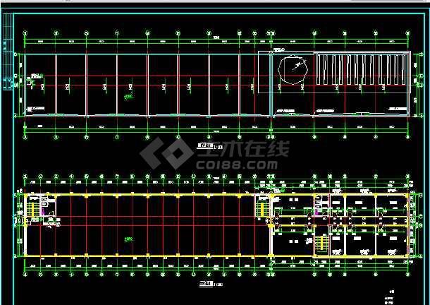 某大型商业综合楼建筑设计方案全套CAD图纸-图3