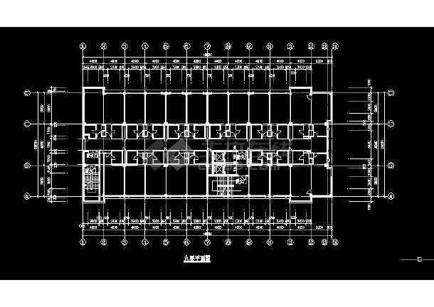 某酒店建施方案设计全套CAD图纸-图2