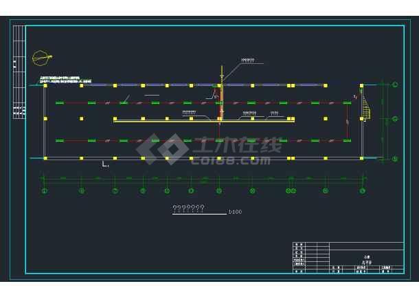 某商业区商住楼强弱电全套CAD设计图纸-图3