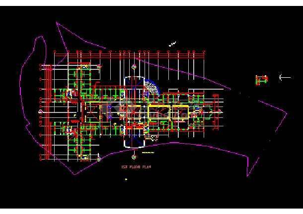 境外公寓建筑设计CAD全套施工图-图2