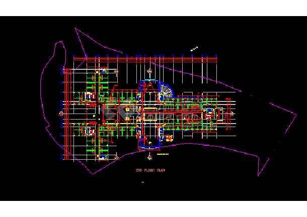 境外公寓建筑设计CAD全套施工图-图3