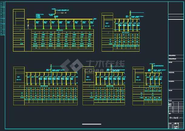 点击查看某社区综合楼强弱电CAD全套施工图纸第2张大图