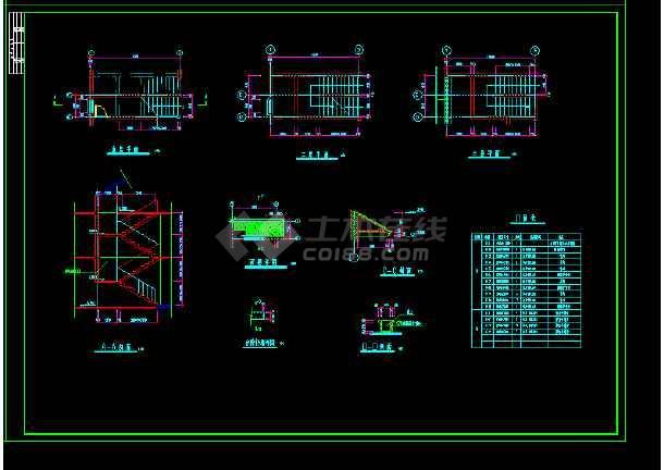 某地水上别墅CAD建筑设计施工图纸-图1