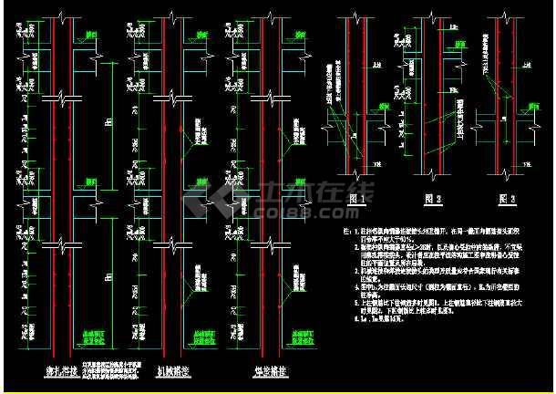 详细建筑构造大样cad设计施工图-图1