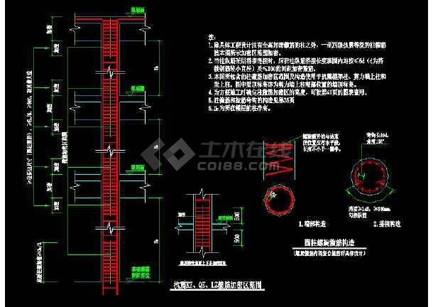 详细建筑构造大样cad设计施工图-图3