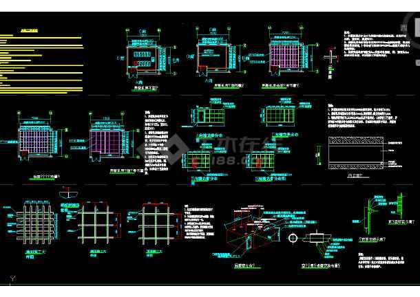 点击查看屏蔽机房工程平面立面示意图(数据机房屏蔽体)第1张大图